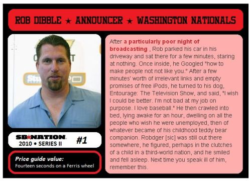SB Nation Trading Cards Series II : Collect em all!