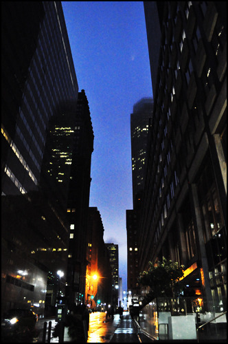 An NYC street. [Photo by me.]