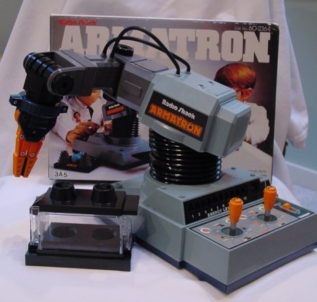 Radio Shack Armatron (Remembered by @agripundit)