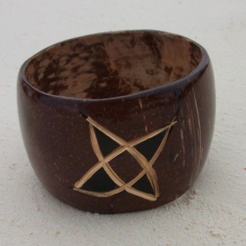 New product up at the Treasures of Tanzania shop - Star Coconut Bangle