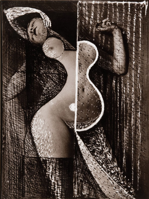 Odalisque / Woman of the Harem from Transmutations, 1934-1935 by Brassaï  * via Bloomsbury Auctions