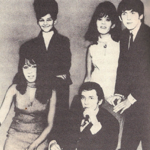 herekitty:  Ronettes + Phil Spector + George Harrison = ♥!  (via laughmyselftothegrave)