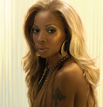 MARY J BLIGE ; GOTTA SUPPORT HER .