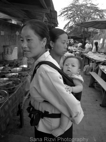 Mother and child, Laos