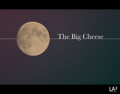 Moon = Cheese
