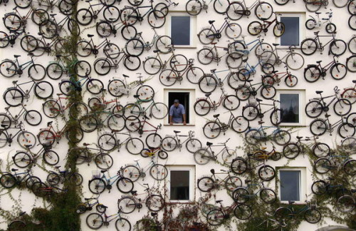A bicycle shop in Altlandsberg, Germany… ;]