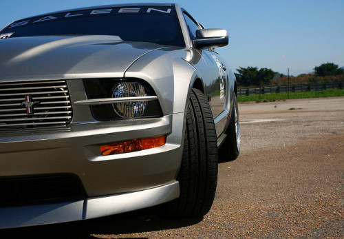 carpr0n:  Lucifer Starring: Saleen Mustang GT (by Henrique Felippe)  It might not be a true Saleen, but it's sexy none the less.