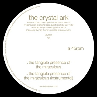 #NowPlaying The Crystal Ark - The Tangible Presence of the Miraculous (DFA)