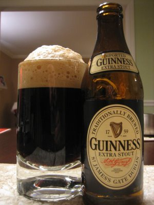 Without some exercise to counteract it, Guinness Extra Stout makes you exactly that.