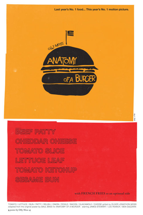 Olly Moss rocks (as does his inspiration, Saul Bass)