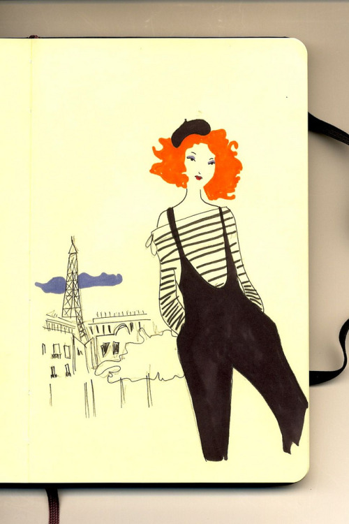 Moleskine #130 - Parisienne by FirstLadyPatate ♪ Clogs feat Matt Berninger