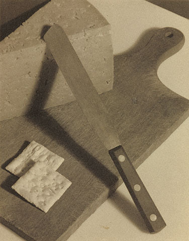 Paul Outerbridge Cheese and Crackers 1922