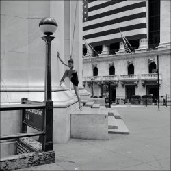 Wall Street - The Ballerina Project. Photo by: Dane Shitagi.