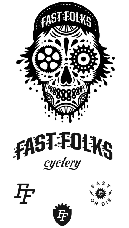 Illustration: Fast Folks Cyclery. Fast or die!