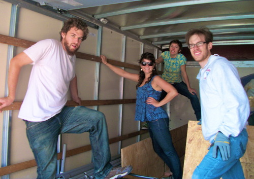 thefunkyones:  Burning Man Loading Up Montage  Elephant Bird Camp 2010