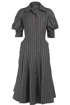 Alexander Mcqueen tailored shirt dress