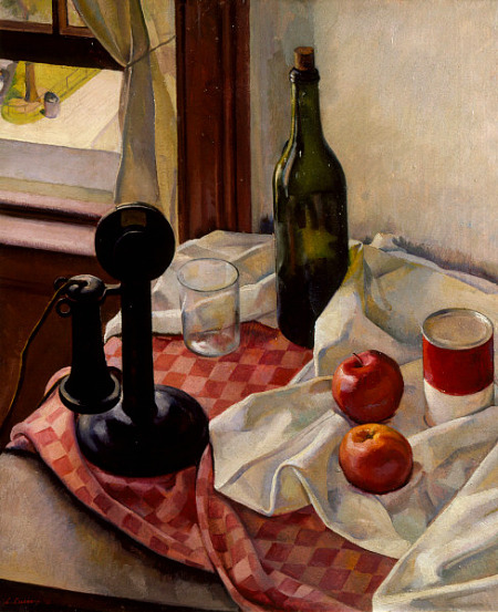 Luigi Lucioni Still Life with Telephone 1926