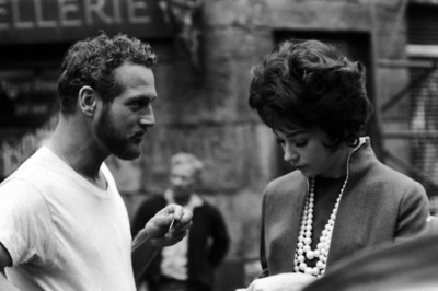 oldfilmsflicker:  Shirley MacLaine and Paul Newman