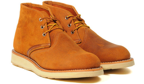 Red Wing Camel Work Chukka Boots