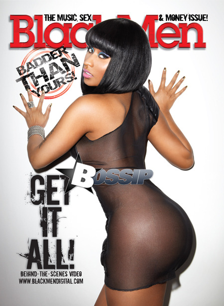 Damn Nikki Minaj  got boooty for days no homo
