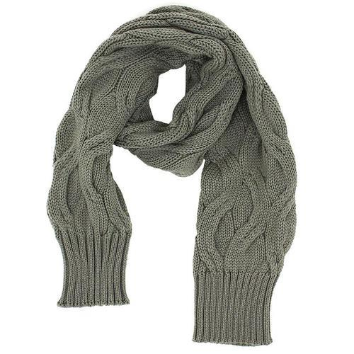 S.N.S. Herning Heavy Cable Knit Scarf