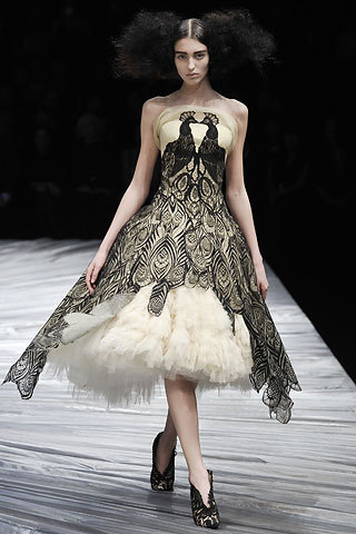 Alexander McQueen, one of my favorite dresses he made.