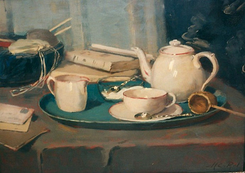 Marie van Regteren Altena Still Life with Tea Set Late 19th - early 20th century