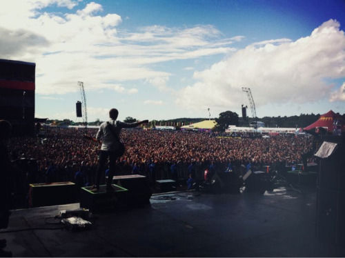 tombarnesphoto:  Who wants to know what YMAS playing to at least 30,000 people looks like?