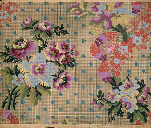 Unknown (Lyons, France) Textile Design 1765-70