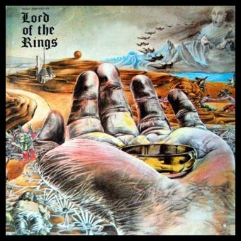 Music Inspired by Lord of the Rings by Bo Hansson - original record cover