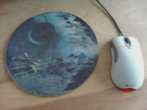 That's No Mouse Pad…That's a Space Station.
