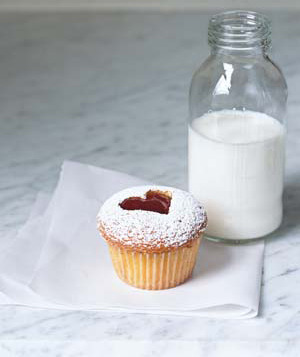 Linzer Style |  Creative Cupcakes | Real Simple Image by Mgoc Minh Ngo