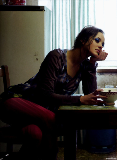 Marion Cotillard by Elle France, February 21st 2009via bohemea