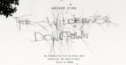 "The Wilderness Downtown by Chris Milk with ""We Used to Wait"" by Arcade Fire: Who knows your daily Internet tools can turn into emotion? This is very well executed for what we have so far."