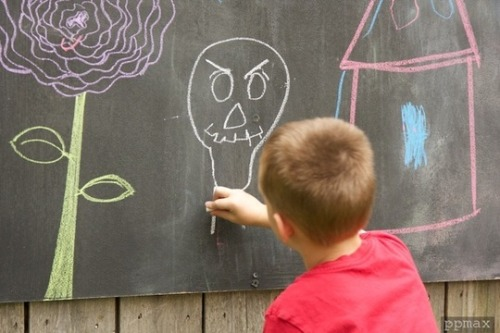 Outdoor Chalkboard Reader Project
