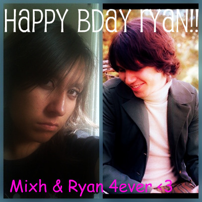 Happy Birthday, Ryan! I wish you the super pass, I'm a big fan of yours,