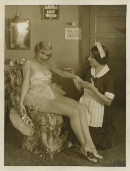 Bessie Love gets the pampered movie star treatment C. 1920s