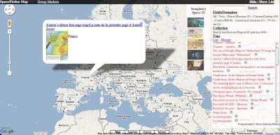 (e)space & fiction mapped - about the relations between space and fiction (novels, movies, paintings, music, comics, art works …). We collect spatial machineries used to represent space in fiction, as maps or narratives, and places that inspire fiction and where imaginary objects may end by materializing. You will find also news, analysis and references.