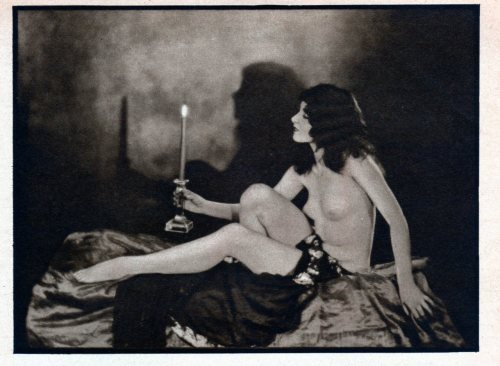 Phyllis Pearce by Edwin Bower Hesser * from Artists and Models, January 1928