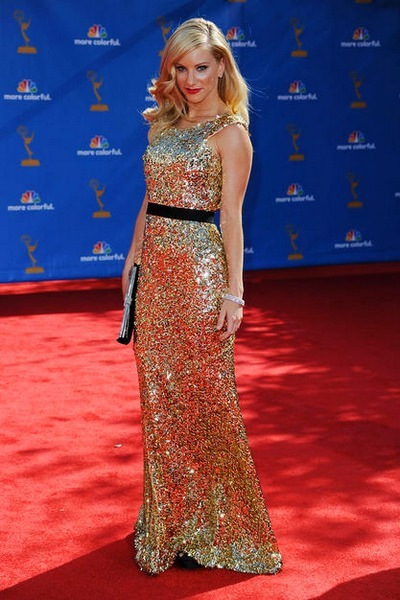 glitteryunicorns:  torewriteourstorytonight:  Emmy Red Carpet 2010: Top 10 Best Dressed  #9: Heather Morris