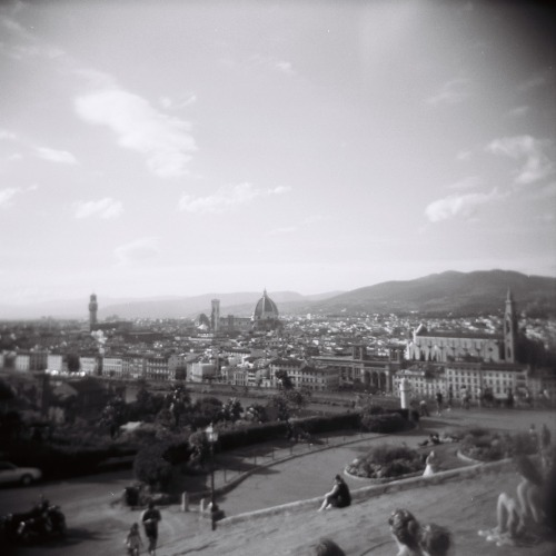 Florence from the Hill - Florence, August 2010