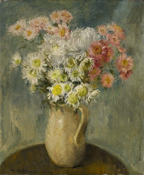 Nan Watson Vase of Flowers Late 19th - early 20th century
