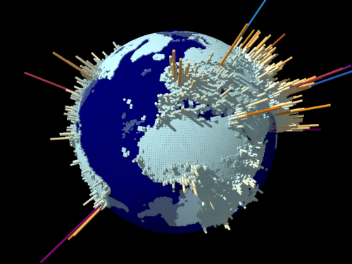 World Population by Yale University Click the image to see the animation.//Haga click en la imagen para ver la animación.