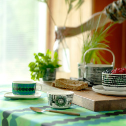 Tableware from Finnish Marimekko.