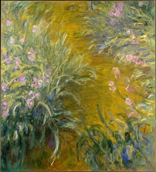 Claude Monet A Path Through the Irises 1914-17