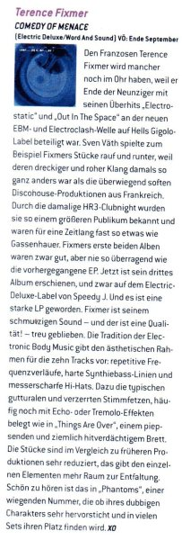 Nice review from Groove Magazine about the forthcoming album