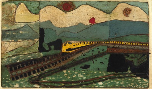 Train in LandscapeSteve Ashby