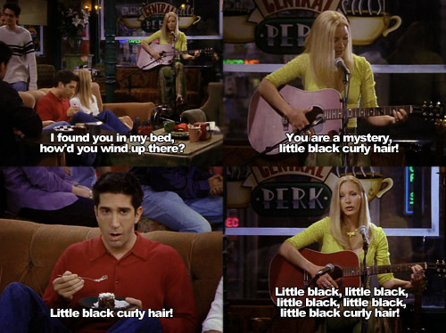 ross lol phoebe and ross