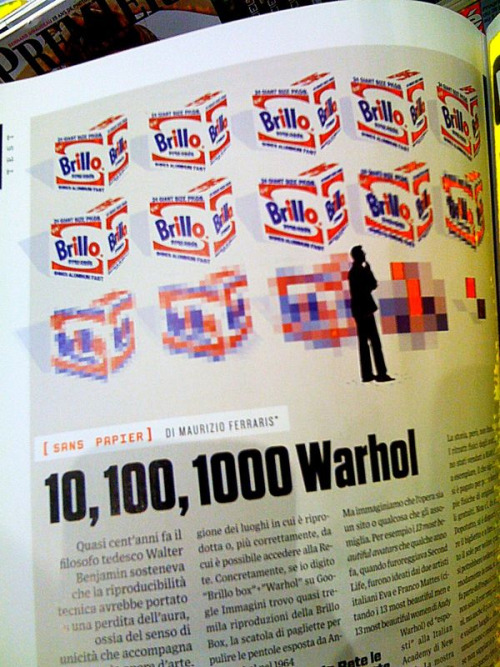10,100,1000 Warhols. Wired Italy