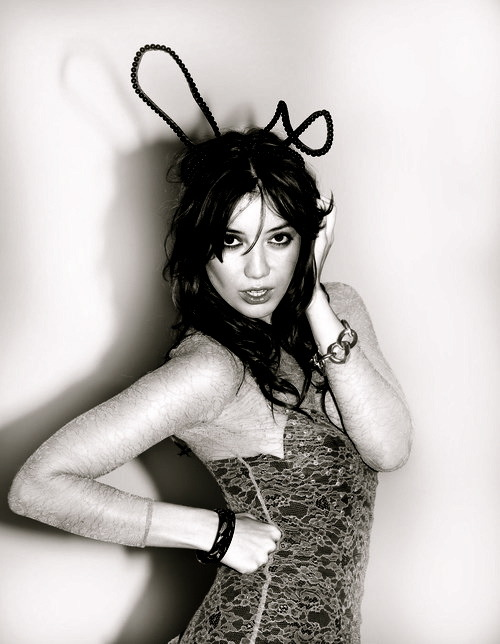 Daisy Lowe. This photo was originally in color, but I made it black & white and added a few other editing tricks. I think it turned out WAY better than how it initially looked.